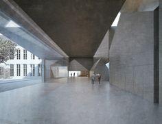 Nova sede da universidade de arquitetura de Tournai - Tournai, Bélgica / Aires Mateus