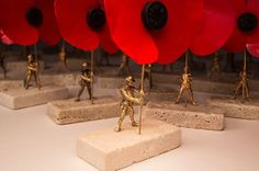Tiny sculptures of WWI soldiers are hidden in Cardiff today to mark 100 years since the Battle of the Somme - Wales Online