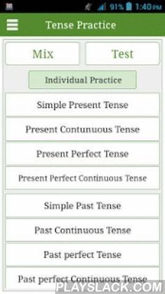 This app helps you to test your knowledge about English Tenses very easy and proper way. You can increase knowledge of Tenses in the English Language. More than 300 Practices ( Mix practice and Indiv Simple Past Tense, Simple Present Tense, English Lessons, Learn English, All Tenses, Present Continuous Tense, Increase Knowledge, Future Tense, Present Perfect