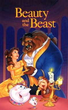 belle et la bête disney affiche | La Belle et la Bête (Beauty and the Beast) ~ ©Disney Magie - Walt ...