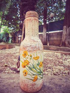 Hediyelik cam vazo / Cicim _ Glass vase for gift / Sweetie