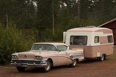 1958 Buick - *oooohhh - I like the car better than the trailer on this pic, lol.