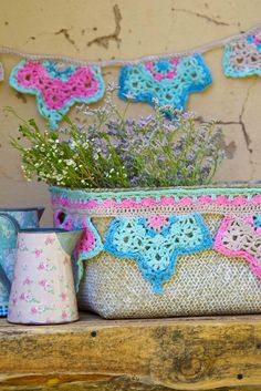 LIG November 2016 Bunting, Magazines, Pattern Design, November, Patterns, Bedroom, Crochet, Decor, Bed Covers