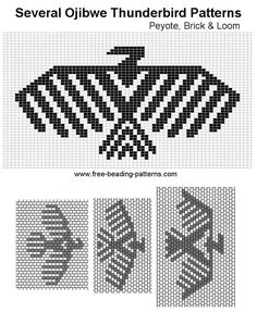 New Pictures Beadwork designs Strategies Place worry can make a enormous effect on how your diamond jewelry looks. No-one wishes to commit several hou Beading Patterns Free, Bead Loom Patterns, Peyote Patterns, Weaving Patterns, Stitch Patterns, Native Beadwork, Native American Beadwork, Native American Crafts, Indian Beadwork