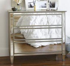 DIY Mirrored Dresser