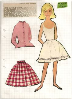 Lena, 1955*1500 free paper dolls Arielle Gabriel's The International Paper Doll Society * also free Asian paper dolls The China Adventures of Arielle Gabriel my travel site * thanks to my Pinterest paper doll pals *
