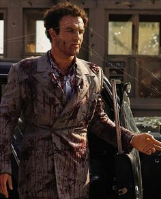 James Caan in The Godfather had 145 pyrotechnic blood squibs under his suit when shooting Sonny Corleones death scene.
