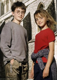 Young Dan and Emma
