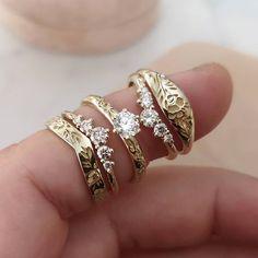 Alternative Bride, Alternative Engagement Rings, Dream Wedding, Wedding Day, Wedding Rings, Fine Jewelry, Jewellery, Diamonds And Gold, Dahlia