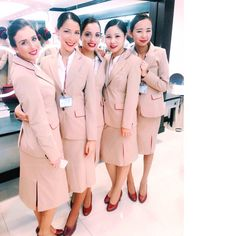 Emirates Cabin Crew Girls in #batch2590