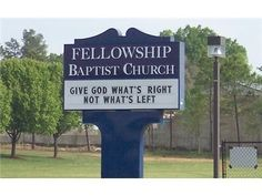 Great Church Signs