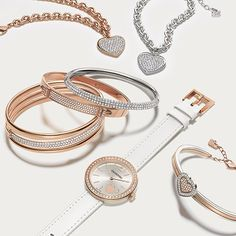 From swarovski - Modern day heirloomspieces from our new Valentine's Collection make perfect gifts sure to be treasured for years to come. #Swarovski