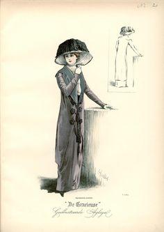 [De Gracieuse] Tailleur-kostuum (October 1910)