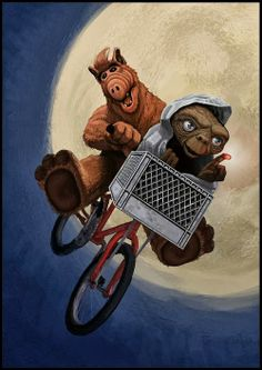 alf, e.t. the extra-terrestrial, phone home, no problem