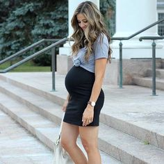 Casual, Chic and Comfy Pregnancy Outfit