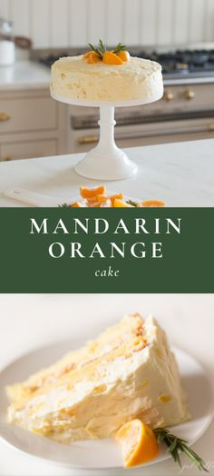 This beautiful made-from-scratch Mandarin Orange Cake is easy to make especially with the help of little hands. Its a fresh twist on an old classic Mandarin Orange Cake made without Cool Whip or cake mix. Just fresh flavorful beautiful cake. Mug Recipes, Sweet Recipes, Dessert Recipes, Dinner Recipes, Snacks Recipes, Orange Recipes, Easy Cake Recipes, Recipies, Paleo Mug Cake