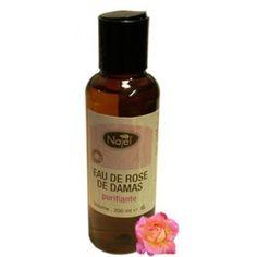 El Agua de Rosas de Damasco es un agua calmante, hidratante para todo tipo de pieles. Debido a su concentración de Vitaminas E y B este limpia en profundidad la piel, logrando mayor suavidad y resistencia de la acción de los agentes atmosféricos.