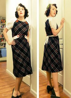 Decades of Style - Button Dress