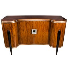 Art Deco Buffet/Cabinet in the Manner of Ruhlmann
