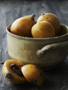 Home grown fruits - Loquats.  Anders Schønnemann Photography