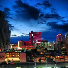 Reno Skyline via Tracy Clark