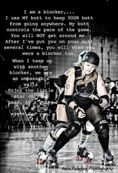 Roller Derby Inspiration. I knew there was a reason I have big butt