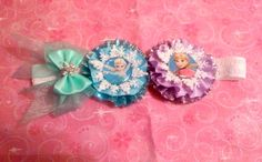 NEW Snowflake Anna and Elsa headband by SweetandCuteBows on Etsy Elsa Hair, Princess Hair Bows, Princess Hairstyles, Elsa Anna, Snowflakes, Headbands, Deco, Unique Jewelry, Handmade Gifts