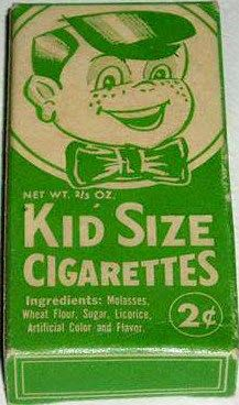 Candy Cigarettes For Kids. I remember these!
