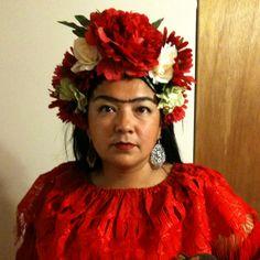 Me as Frida Kahlo for Halloween 2010!
