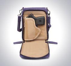 GTM-07 X-Body Smart Phone Pouch Purple