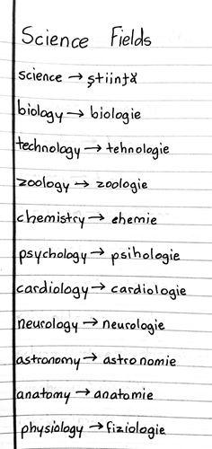 Romanian Language, All Languages, Language Study, English Words, English Vocabulary, My Passion, Petra, Biology, Grammar