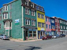 Located on the island of Newfoundland in the Atlantic Ocean, the city of St. John's is known for its vibrant culture and friendly locals. Atlantic Canada, Atlantic Ocean, Saint John New Brunswick, Stuff To Do, Things To Do, Newfoundland And Labrador, Newfoundland Canada, Travel Oklahoma, Montreal Canada