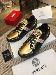 Versace Casual Leather Shoes, Wholesale Shoes, Front Row, Versace, Louis Vuitton, Sneakers, Fashion, Tennis, Moda
