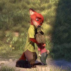 Nick and Judy <3 so sweet  :)