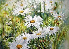 WaterColor Flower Paintings By Marney Ward | funmag.org