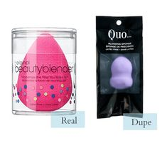 This list is perfect for people who love makeup AND money! - Blending Sponge: Beautyblender vs. Quo #makeup, #beauty, #beauty tips, #budget