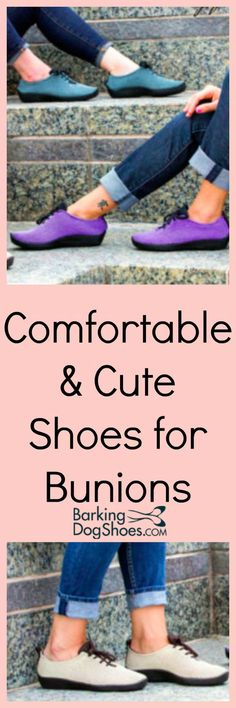 Cover and conceal the pesky bunions in one of these darling styles! No painful pressure, no pinching! Best Shoes For Bunions, Bunion Shoes, Low Boots, Cute Shoes, Women's Shoes, Feet Care, Sports Shoes, Comfortable Shoes, Footwear