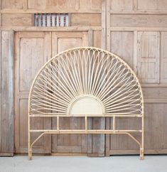 Beautifully Handmade Rattan Headboard Imported from Bali Queen Size wide x tall from floor to matress x tall King Size wide x tall from floor to matress x tall Plywood Furniture, Design Furniture, Table Ikea, Table Diy, Design Loft, Lounge Chair Design, George Nelson, Pool Lounge Chairs, Outdoor Lounge