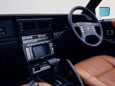 1987 Nissan Leopard Ultima X concept - nice Sony gear!