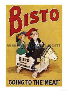 Hey, I found this really awesome Etsy listing at https://www.etsy.com/listing/170147897/bisto-going-to-the-meat-giclee-art-print