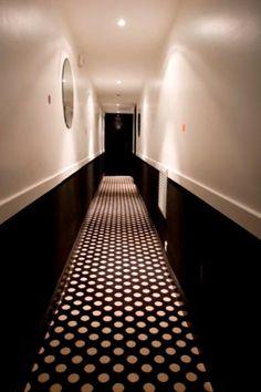 Couloir etage hotel Caumartin Opera