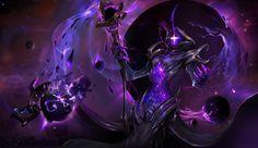 ArtStation - Darkstar Soraka, Dante Liu