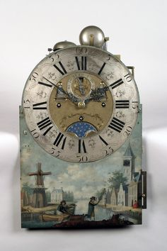 Tasma Fries Clock with Bell Chimes,1806, Netherlands