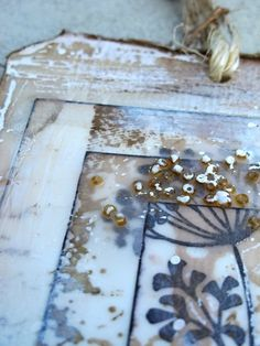 froebelsternchen: *** Mark Making, Picture Frames, Mixed Media, Wax, Decorative Boxes, Crayons, Inspiration, Ideas, Creative
