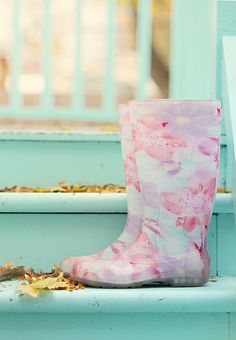 pastel boots