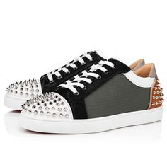 Louboutin Online, Christian Louboutin, Red Sole, Metallic Leather, Online Boutiques, Casual Shoes, Men's Shoes, Flats, Heels