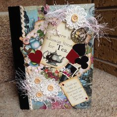 Couture Creations Enchanted Tea Party Junk journal