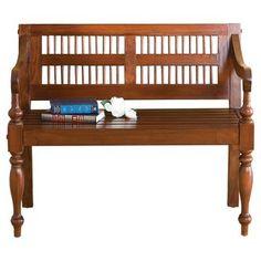 Three Posts Raposo Classic Wood Bench