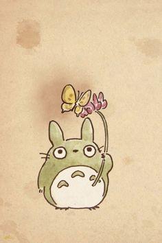 Lovely totoro!:) #miyazaki