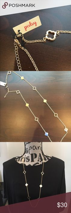 NWT! Stitch Fix Pixley Gold Adjustable Necklace A Kate Spade look at a fraction of the cost! I purchased this from Stitch Fix. Brand new, never worn. Pixley Jewelry Necklaces